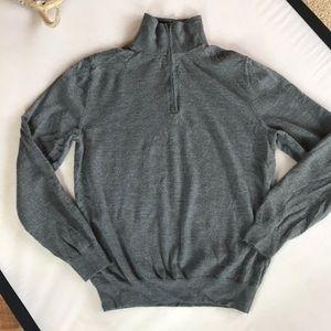 Gap Wool mock 1/4zip sweater